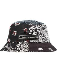 Children of the discordance Bucket Hat With Paisley - Black