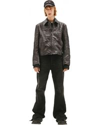 Balenciaga Leather Jacket - Black