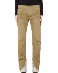 Fear Of God Vintage Gold Selvedge Denim Jean - Natural