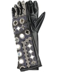 KTZ - Faux Leather Gloves - Lyst