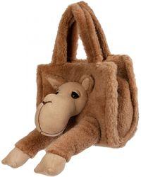 Doublet Alpaca Wool Small Bag - Natural