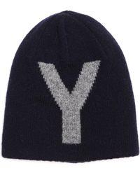 Y's Yohji Yamamoto Двусторонняя Шерстяная Шапка - Многоцветный