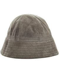 Hender Scheme - Grey Suede Sailor Hat - Lyst
