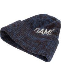 OAMC Wool Logo Beanie - Blue