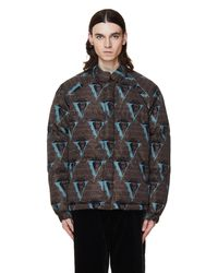 Undercover Valentino Edition Brown Down Jacket