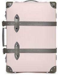 "Globe-Trotter Pink & Gray Emilia 20"" Trolley Case"