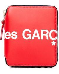Comme des Garçons - Красный Кожаный Кошелек - Lyst