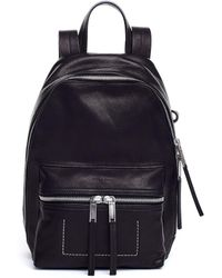 Rick Owens - Small Leather Backpack - Lyst