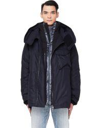 The Viridi-anne Layered Down Puffer Jacket - Black