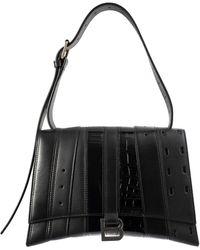 Balenciaga Черная Сумка Hourglass Multibelt - Черный