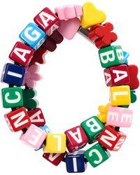Balenciaga Разноцветный Чокер Toy - Металлик