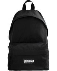Balenciaga Рюкзак Explorer C Логотипом - Черный