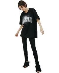Doublet Embroidered Christmas T-shirt - Black
