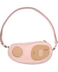 Maison Margiela Розовая Мини-сумка Tabi - Розовый
