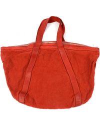 Guidi - Linen Bag - Lyst