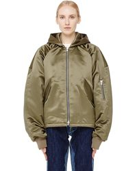 Fear Of God - Hooded Bomber Jacket - Lyst