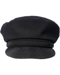 Yohji Yamamoto Black Wool Hat