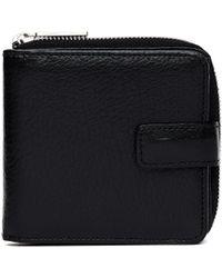 Yohji Yamamoto Black Leather Wallet