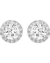 Swarovski - Angelic Pierced Earrings - Lyst