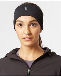 Sweaty Betty Anna Running Headband - Black