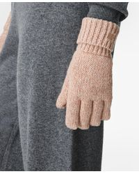 Sweaty Betty Texture Merino Knitted Gloves - Multicolor