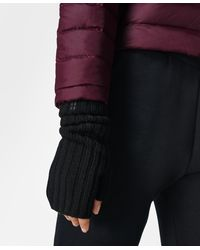 Sweaty Betty Cashmere Fingerless Gloves - Black