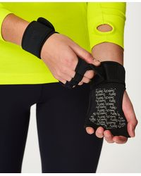 Sweaty Betty Workout Grip Gloves - Black