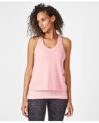 Sweaty Betty - Seamless Double Time Workout Tank - Lyst