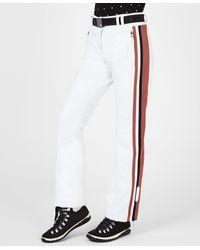 Sweaty Betty Moritz Softshell Slim Leg Snow Pants - White