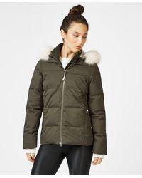Sweaty Betty North Pole Short Primaloft Jacket - Green