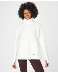 Sweaty Betty - Venture Sherpa Running Pullover - Lyst