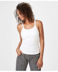Sweaty Betty Namaska Yoga Tank - White