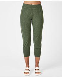 Sweaty Betty Gary Cropped Yoga Pants - Green