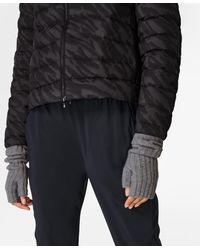 Sweaty Betty Cashmere Fingerless Gloves - Gray
