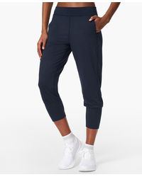 Sweaty Betty Gary Cropped Yoga Pants - Blue