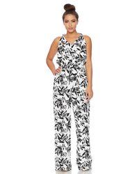 a08e7a1095c Athena - Margherita Floral Wide Leg Romper - Lyst