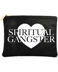Spiritual Gangster - Heart Pouch - Lyst