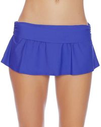 Athena - Cabana Solids Maliah Flared Skirted Bottom - Lyst