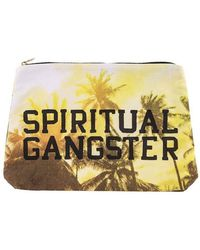 Spiritual Gangster - Varsity Palms Sunrise Pouch - Lyst