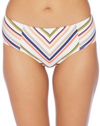 Splendid - Line Up Midrise Bikini Bottom - Lyst