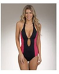 Hurley - Kings Road One Piece Swimsuit Color: Black Size: Xs - Lyst
