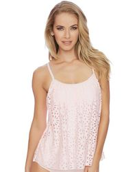 Luxe by Lisa Vogel - Aphrodite Sway Tankini - Lyst