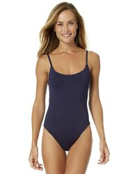 Anne Cole - 1982 Vintage High Leg Maillot One Piece Swimsuit - Lyst