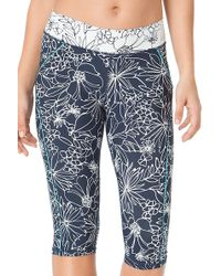 Anne Cole - Spinning Floral Surf Pant Cover Up - Lyst