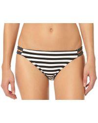 InMocean - Juniors Spot Stripe Split Side Hipster Swim Bottom - Lyst