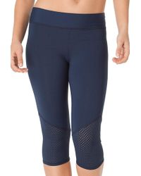 Anne Cole - Laser Dot Perforated Trim Surf Pant Cover Up - Lyst