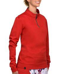 SwingDish Boyfriend Pullover Red - Final Sale