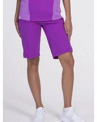 SwingDish Jocelyn Bermuda - Final Sale - Purple