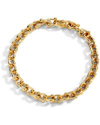 SYNAJEWELS Mogul Horse Shoe Bracelet - Metallic