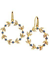 SYNAJEWELS Jardin Twine Earrings - Metallic